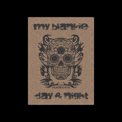 "My Skull Blankie Blanket 50""x60"""