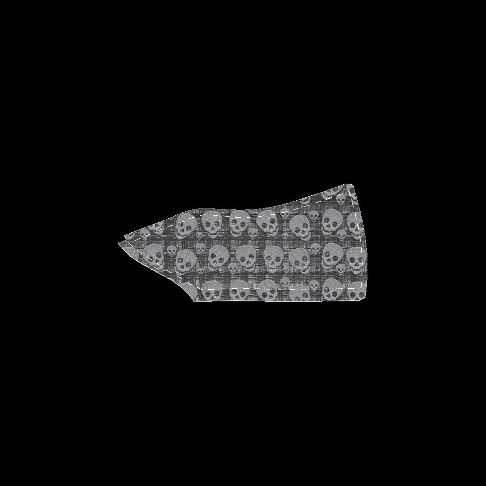 SKULLS EVOLUTION Women's Slip-on Canvas Shoes (Model 019)