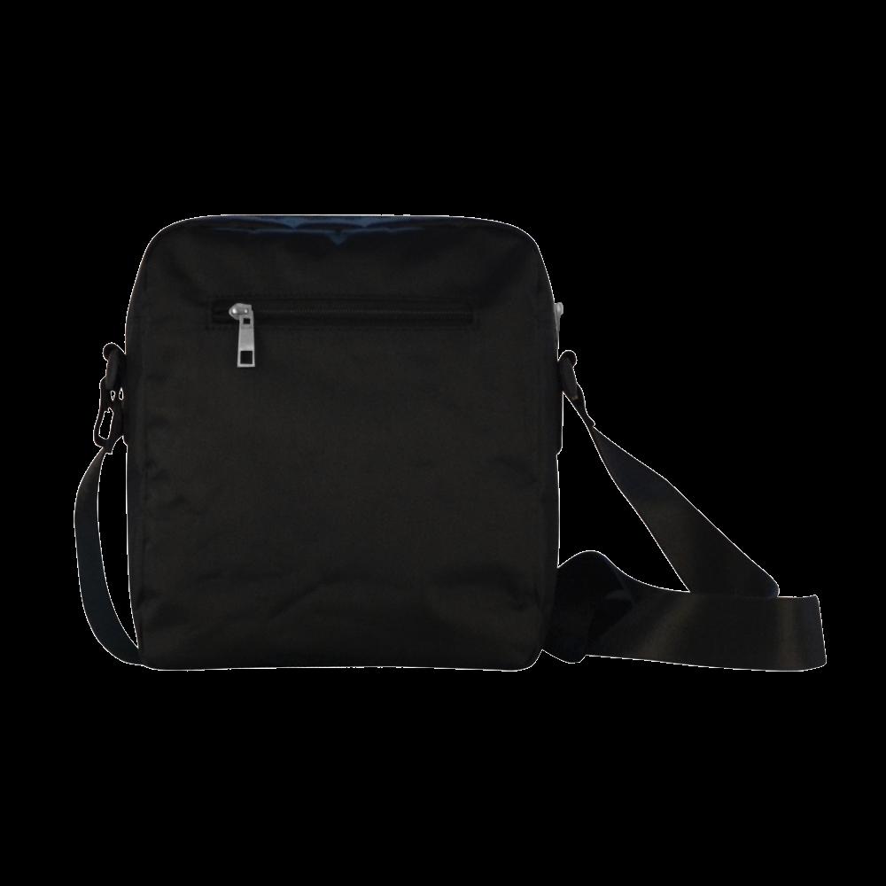 SKULL FLOWERS Crossbody Nylon Bags (Model 1633)