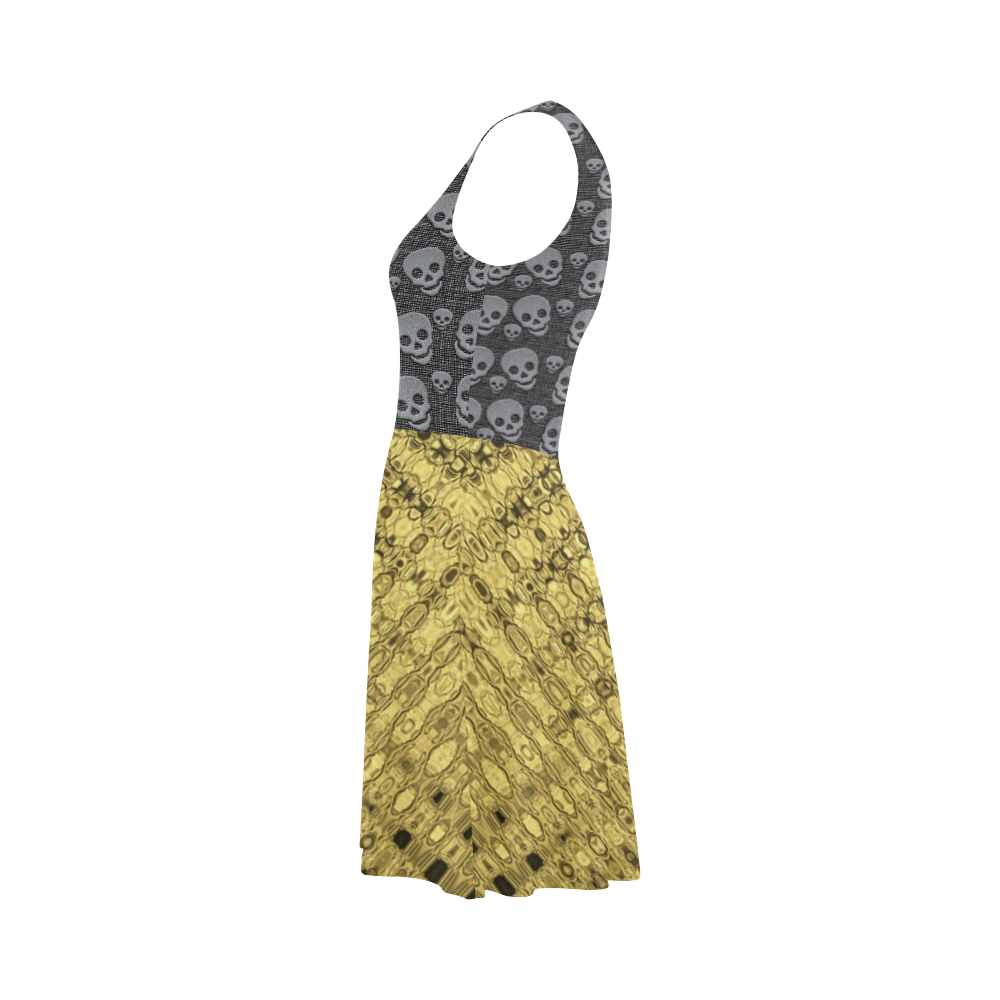 SKULLS LUXURY GOLD Atalanta Sundress (Model D04)