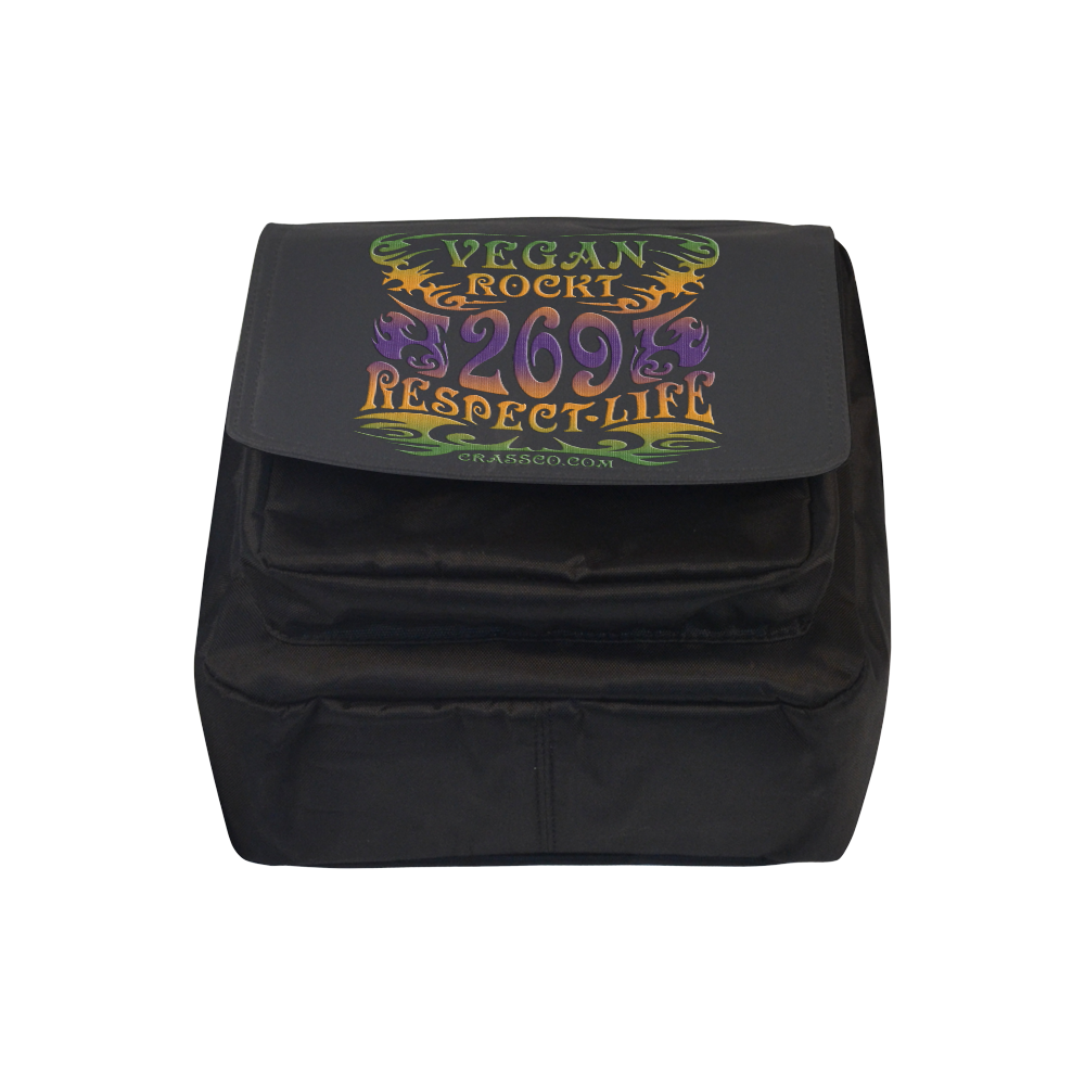VEGAN ROCKT Crossbody Nylon Bags (Model 1633)