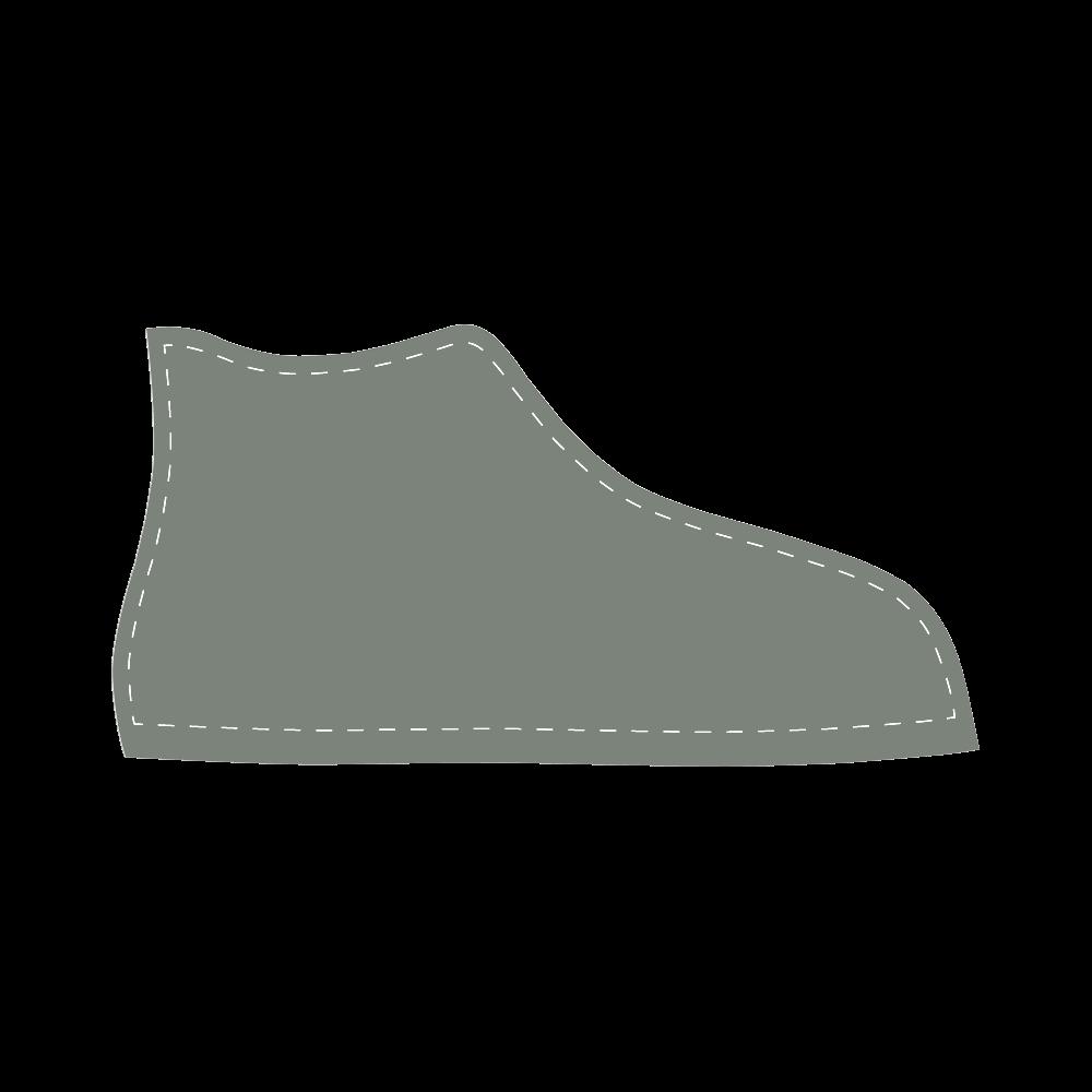 Sea Spray High Top Canvas Kid's Shoes (Model 002)