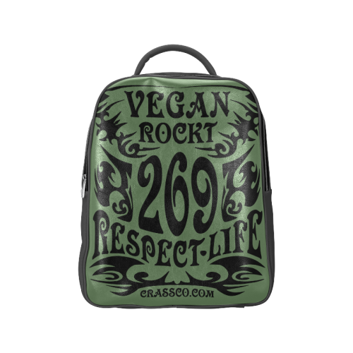 VEGAN RESPECT LIFE Popular Backpack (Model 1622)