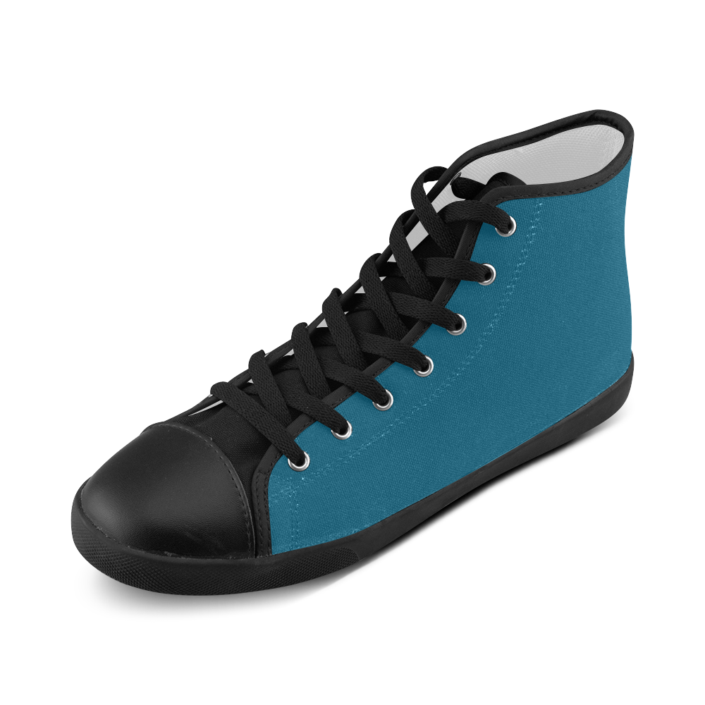 Seaport High Top Canvas Kid's Shoes (Model 002)