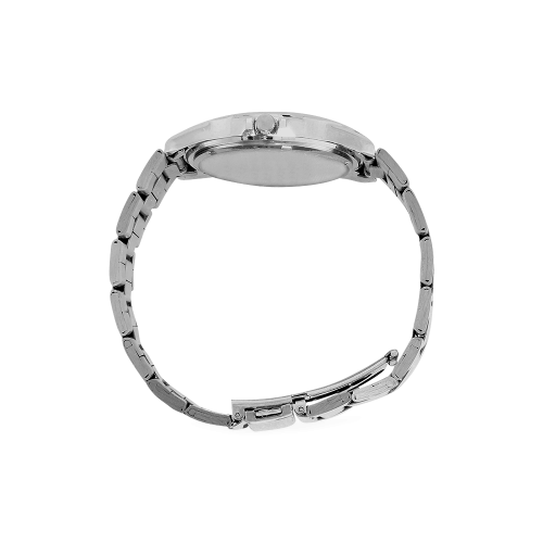 VEGAN CALF Men's Stainless Steel Analog Watch(Model 108)