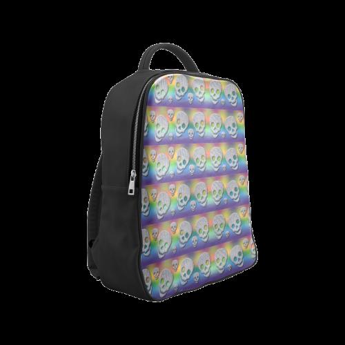 SKULLS MULTICOLOR Popular Backpack (Model 1622)