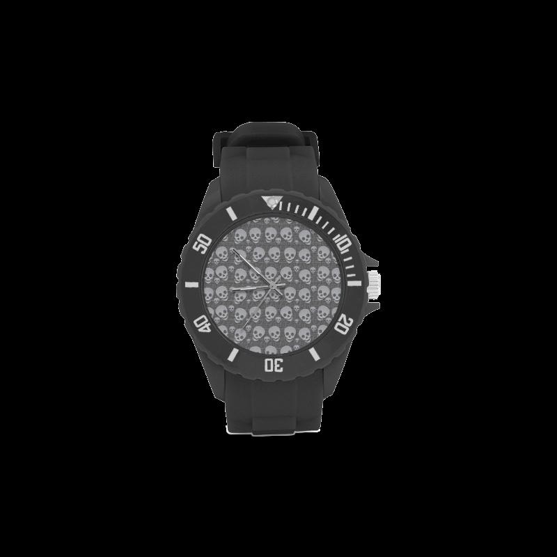 SKULLS REVOLUTION Sport Rubber Strap Watch(Model 301)
