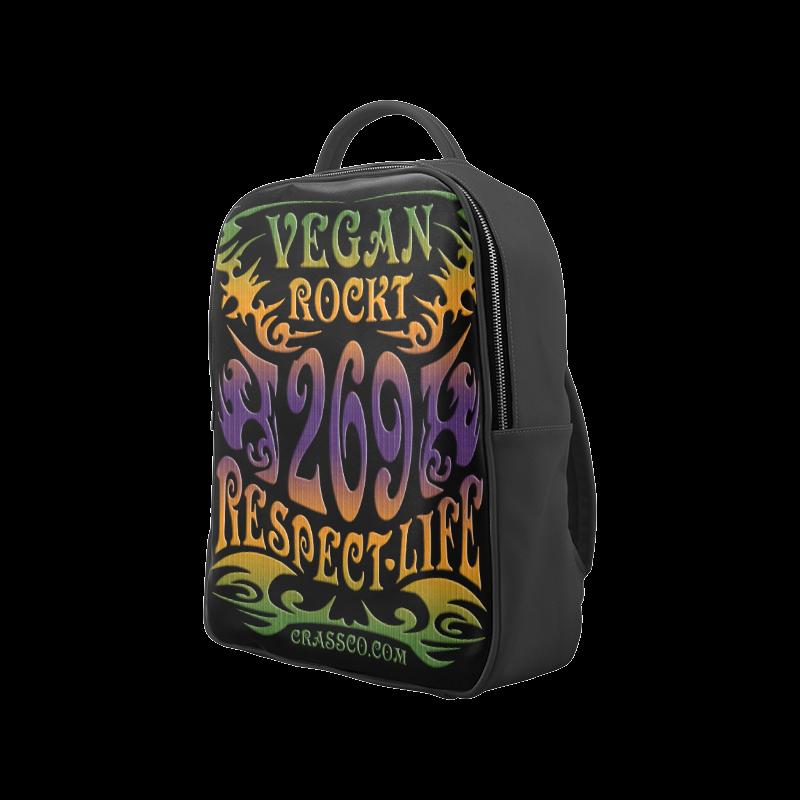 VEGAN RESPECT LIFE Popular Backpack (Model 1622)