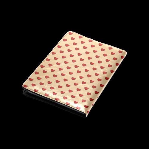 Retro Hearts Custom NoteBook A5