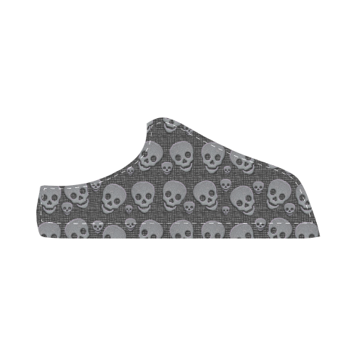 SKULLS EVOLUTION Women's Chukka Canvas Shoes (Model 003)