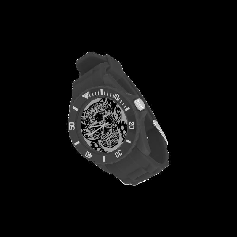 SKULL FILIGRAN Sport Rubber Strap Watch(Model 301)