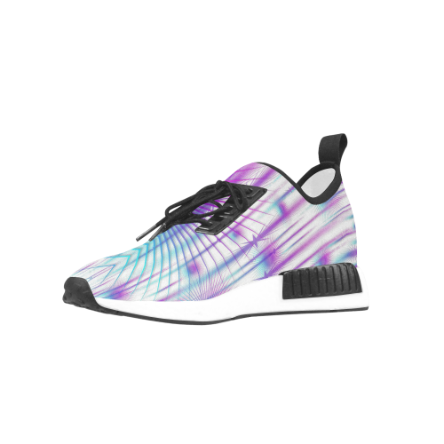 Star fall in rainbow landscape Men's Draco Running Shoes (Model 025)