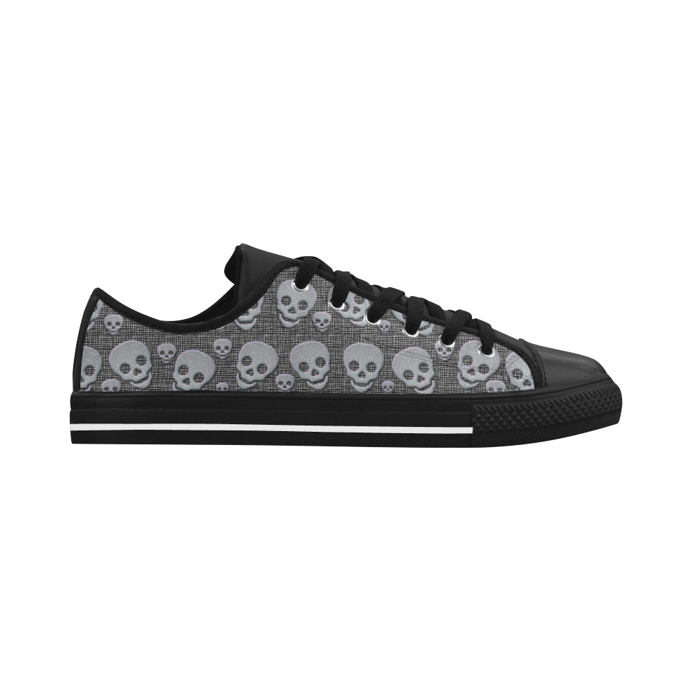 SKULLS EVOLUTION Aquila Microfiber Leather Women's Shoes (Model 028)