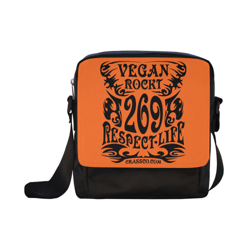 VEGAN RESPECT LIFE Crossbody Nylon Bags (Model 1633)
