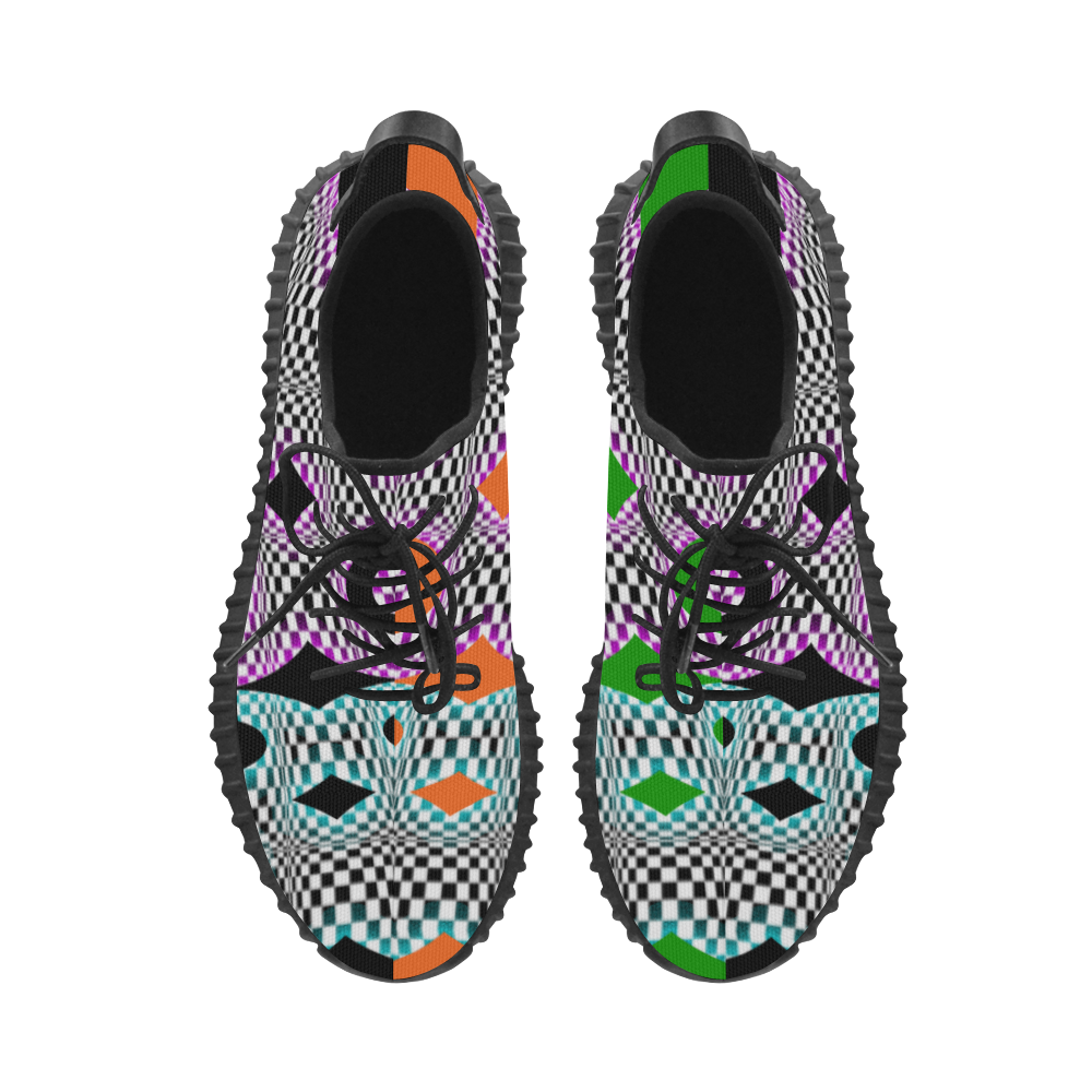 PARANOIA Harlequin 2 Grus Men's Breathable Woven Running Shoes (Model 022)