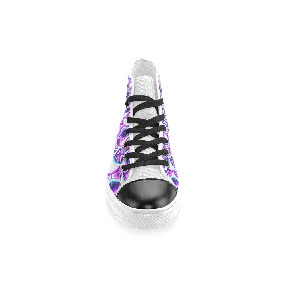 Blast-o-Blob #5 - Jera Nour Women's Classic High Top Canvas Shoes (Model 017)