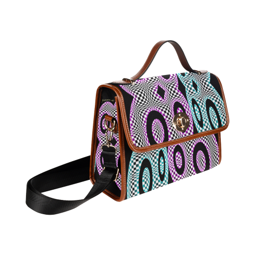 PARANOIA Waterproof Canvas Bag/All Over Print (Model 1641)