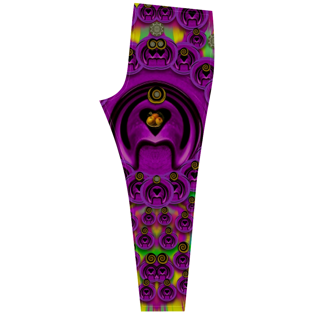 love for the fruit and stars in the Milky Way Cassandra Women's Leggings (Model L01)
