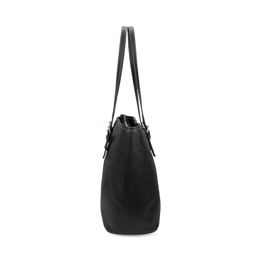 VEGAN LEBEN Leather Tote Bag/Small (Model 1640)