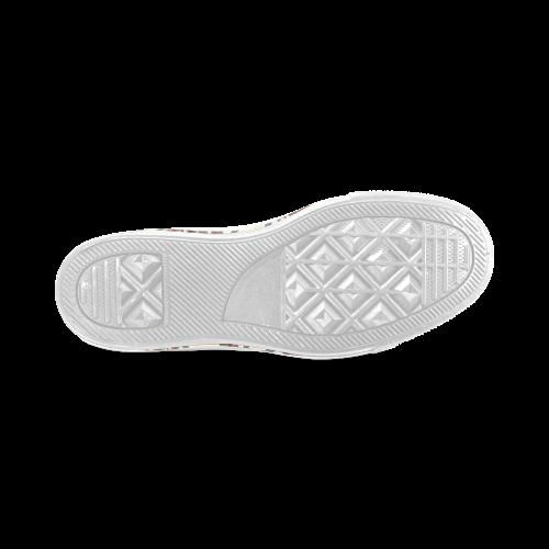 Blast-o-Blob #6 - Jera Nour Women's Classic High Top Canvas Shoes (Model 017)
