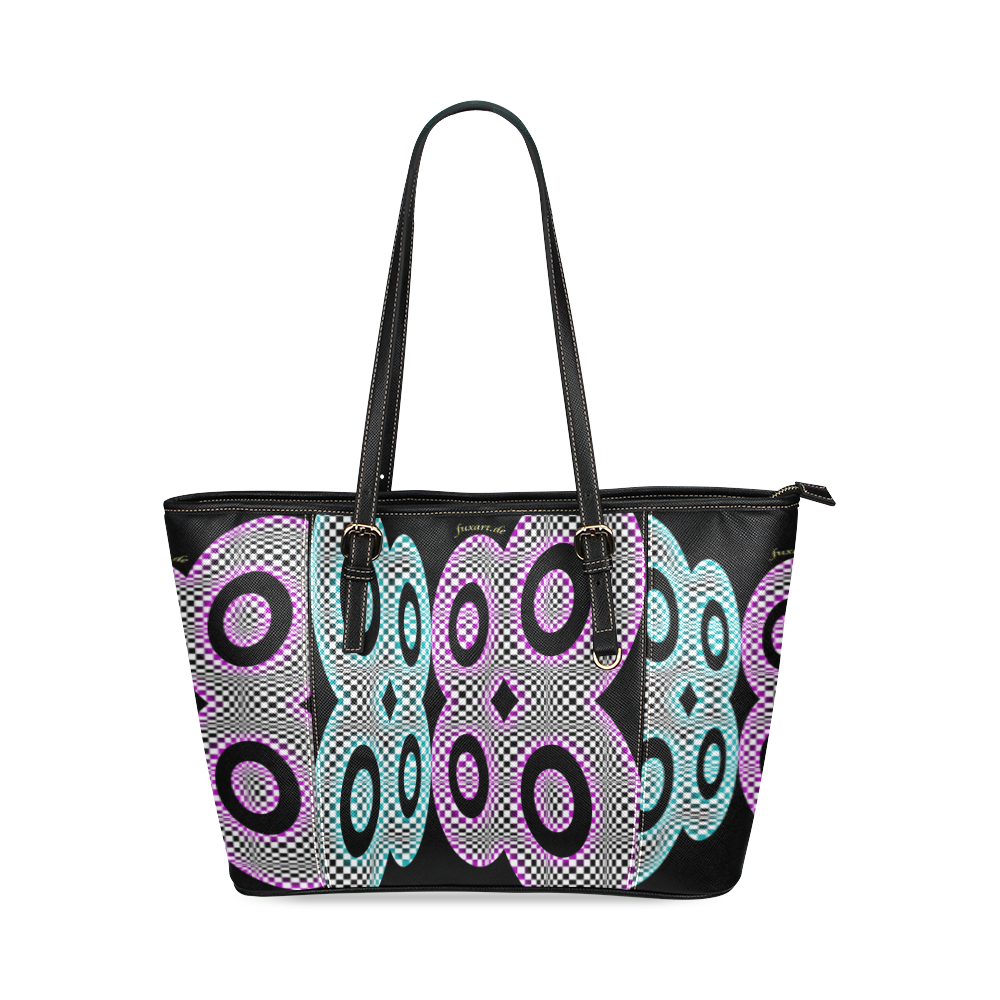 PARANOIA Leather Tote Bag/Small (Model 1640)