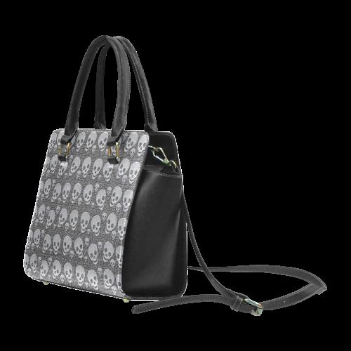 SKULL LUXURY Rivet Shoulder Handbag (Model 1645)