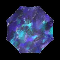 Midnight Storm Oil Painting Foldable Umbrella (Model U01)