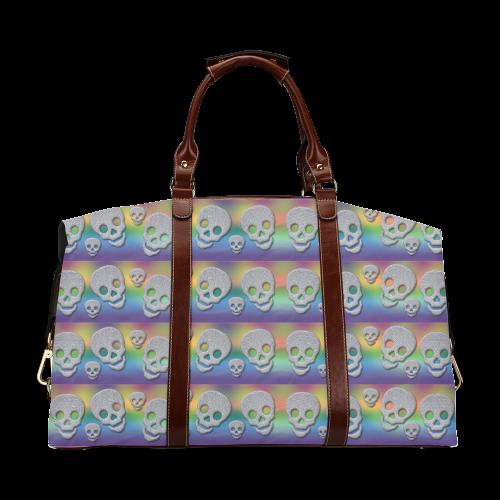 SKULLS MULTICOLOR Classic Travel Bag (Model 1643)
