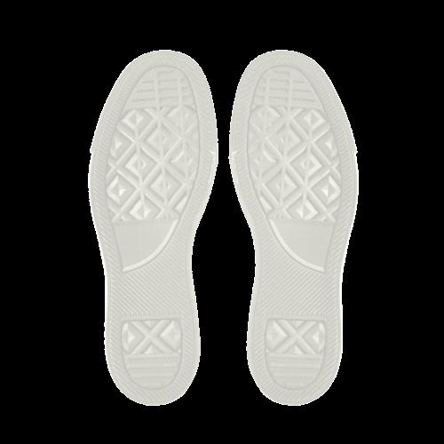 Pineapple Pastel Colors Pattern Apus Slip-on Microfiber Women's Shoes (Model 021)