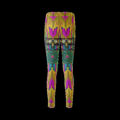 Troll In the Rainbows looking good Cassandra Women's Leggings (Model L01)