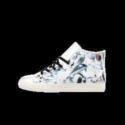 Foliage #5 - Jera Nour Aquila High Top Microfiber Leather Men's Shoes (Model 027)