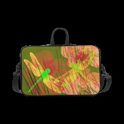 "Dragonflies & Flowers Summer Q Macbook Pro 17"""