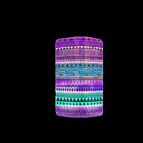 Purple Teal Tribal Pattern Women's Clutch Wallet (Model 1637)