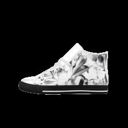 Foliage #1 - Jera Nour Aquila High Top Microfiber Leather Men's Shoes (Model 027)