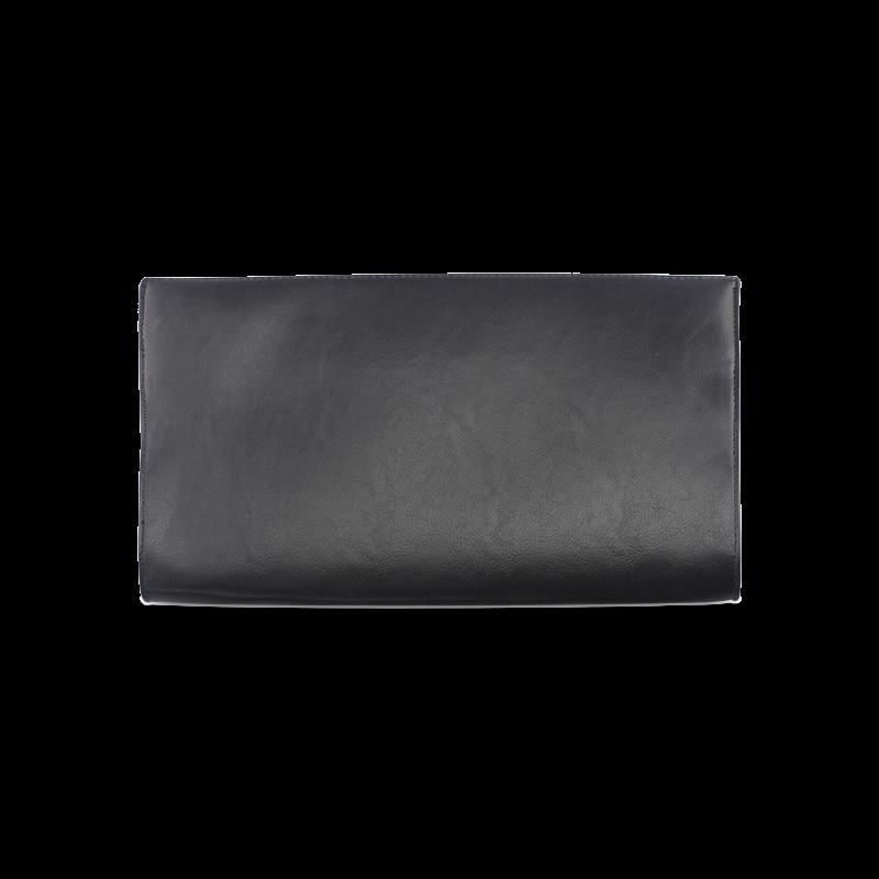 GOLD LUXURY TEXTURE Clutch Bag (Model 1630)