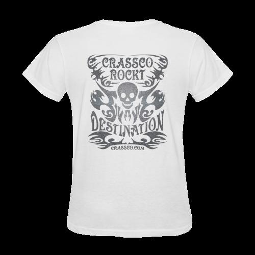 SKULL PLUS DESTINATION Sunny Women's T-shirt (Model T05)