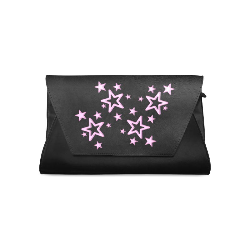 PINKY STARS Clutch Bag (Model 1630)