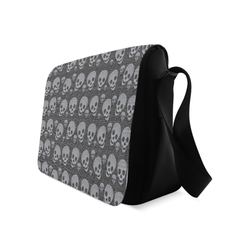 SKULLS EVOLUTION Messenger Bag (Model 1628)