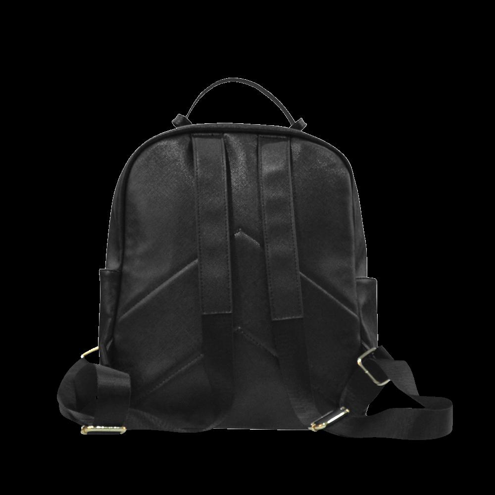 SKULL ON BLUE Campus backpack/Large (Model 1650)