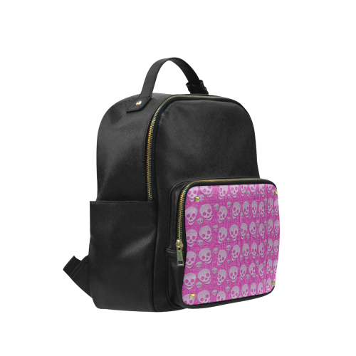 SKULLS PINKY Campus backpack/Large (Model 1650)