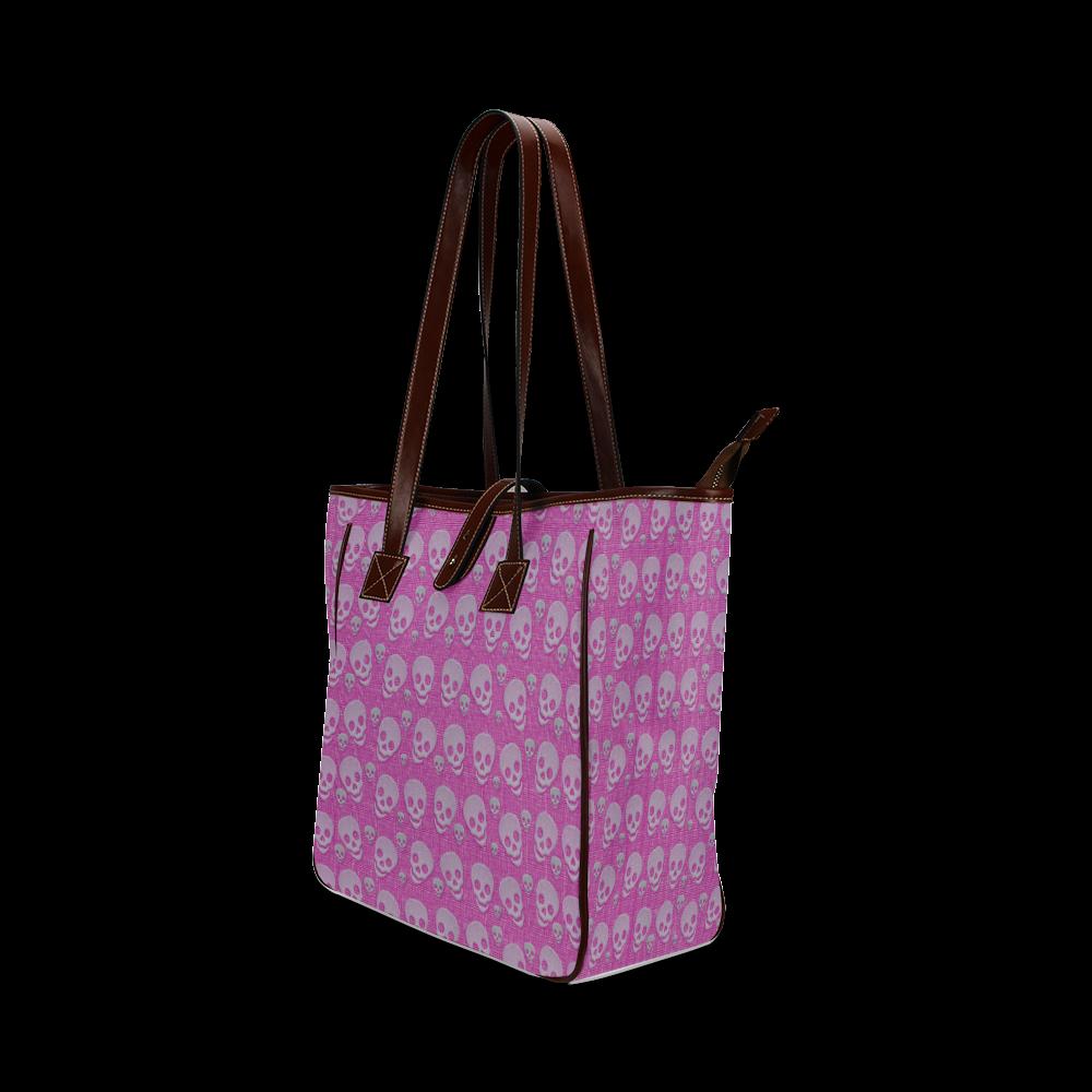 SKULLS EVOLUTION Classic Tote Bag (Model 1644)