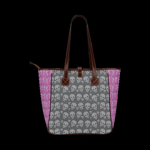 SKULLS REVOLUTION Classic Tote Bag (Model 1644)