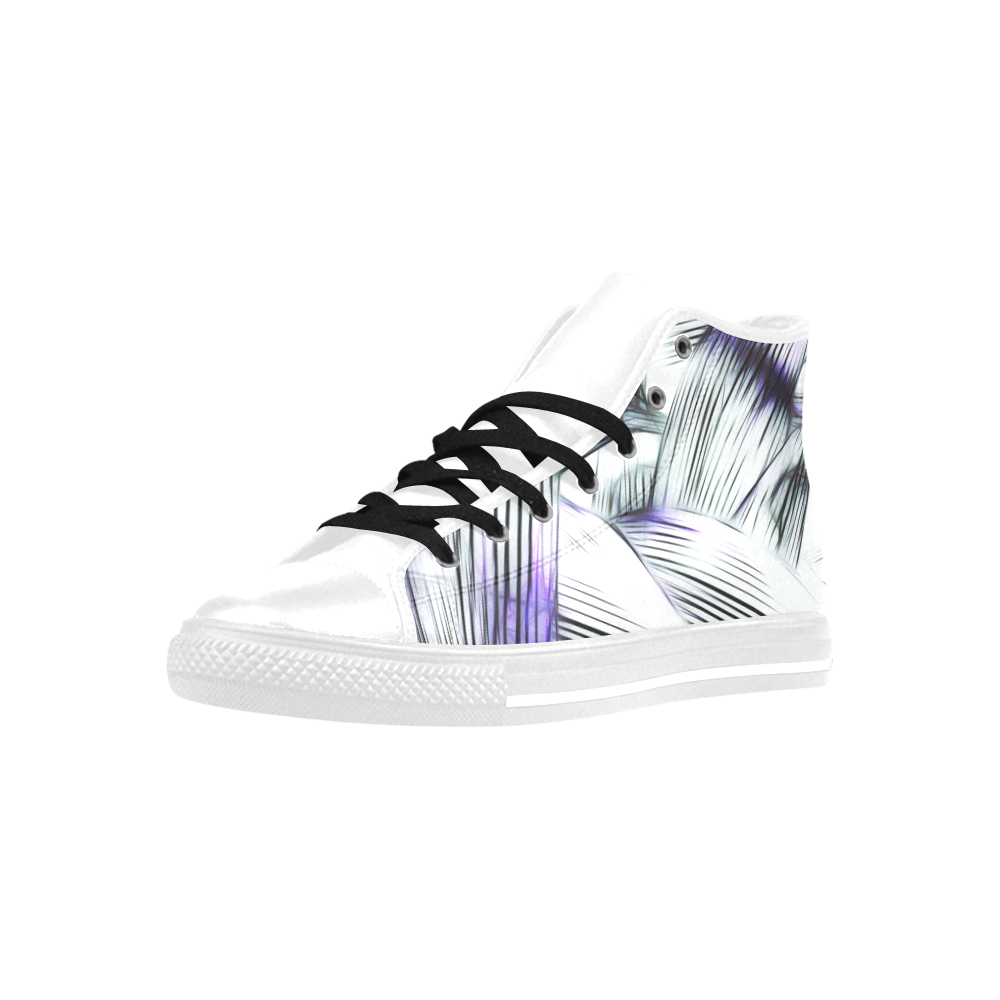 Foliage #8 - Jera Nour Aquila High Top Microfiber Leather Women's Shoes (Model 027)