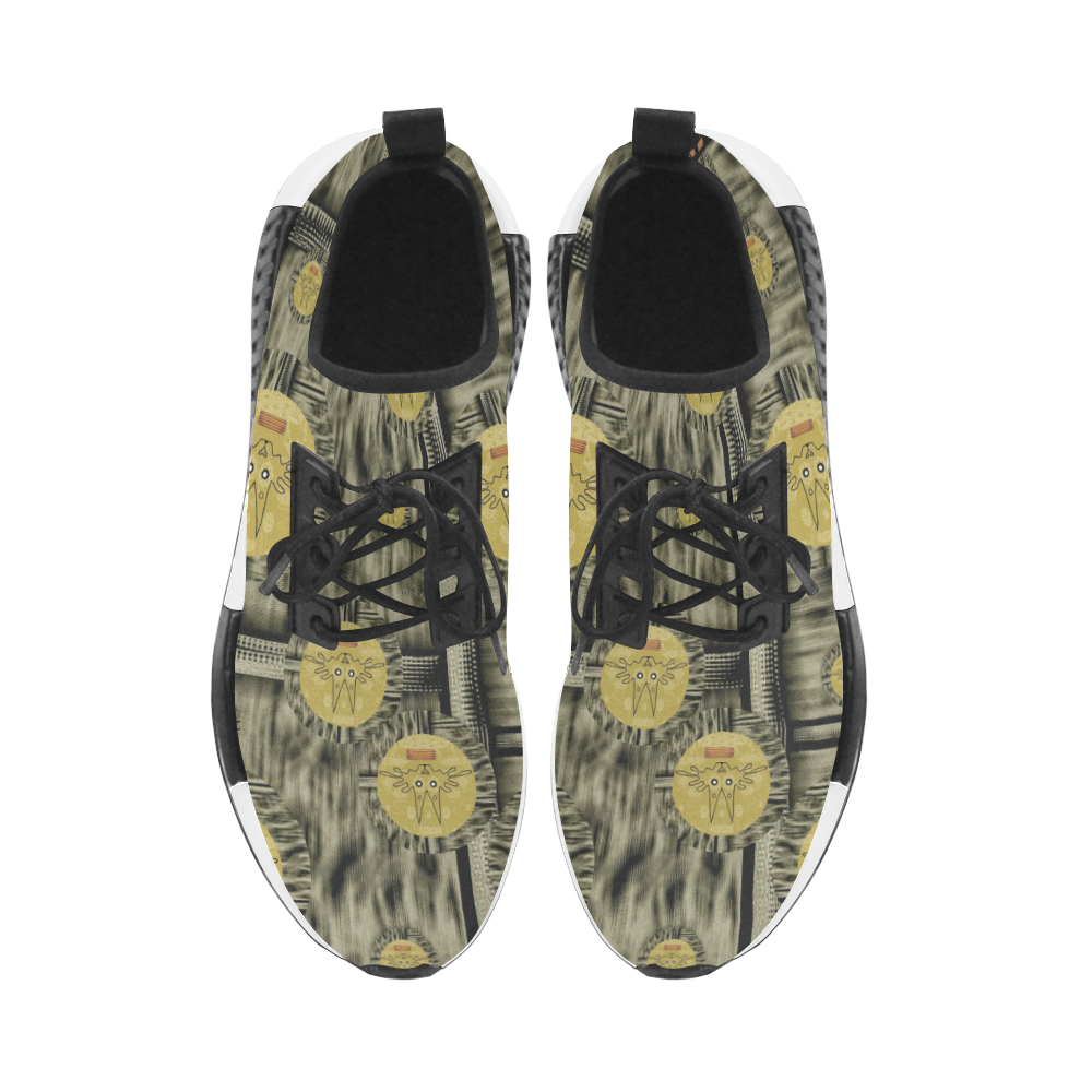 Rabbits and Lace to keep the senses high popart Women's Draco Running Shoes (Model 025)
