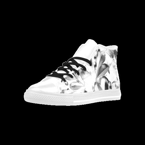 Foliage #1 - Jera Nour Aquila High Top Microfiber Leather Women's Shoes (Model 027)