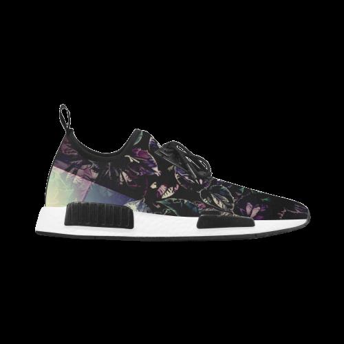 Foliage Patchwork #13 - Jera Nour Women's Draco Running Shoes (Model 025)