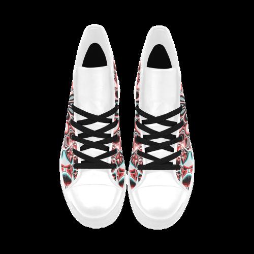 Blast-o-Blob #5 - Jera Nour Aquila High Top Microfiber Leather Women's Shoes (Model 027)