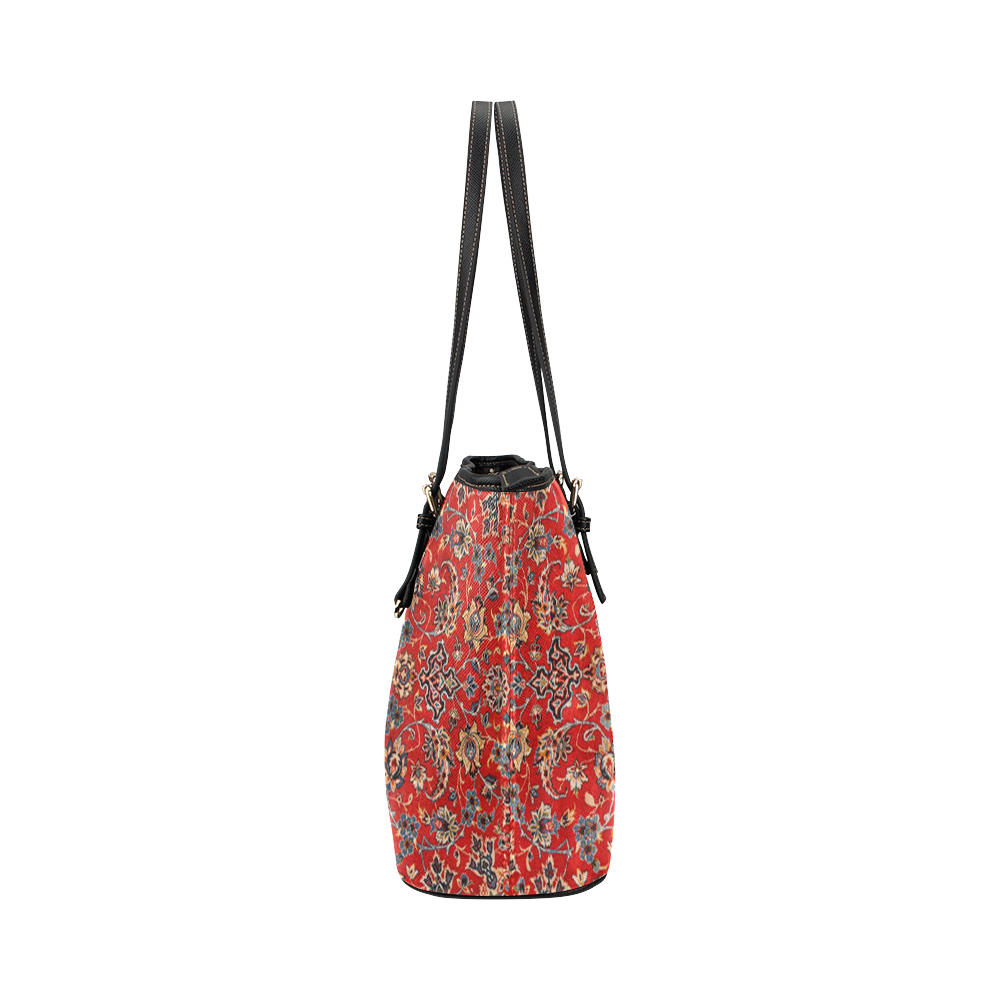 Patterned Persian Leather Tote Bag/Large (Model 1651)