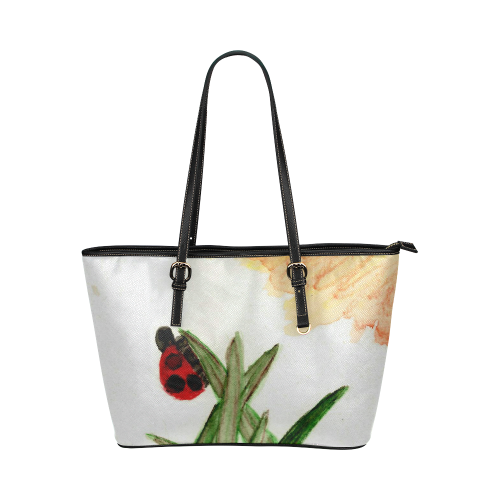 Ladybird Leather Tote Bag/Large (Model 1651)