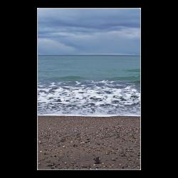 "Foam on the Beach Poster 23""x36"""